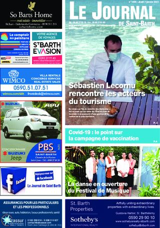 Journal de Saint-Barth N°1405 du 07/01/2021
