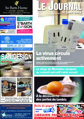 Journal de Saint-Barth N°1406 du 14/01/2021