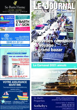 Journal de Saint-Barth N°1407 du 21/01/2021