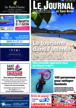 Journal de Saint-Barth N°1410 du 11/02/2021