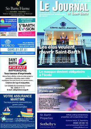 Journal de Saint-Barth N°1412 du 25/02/2021
