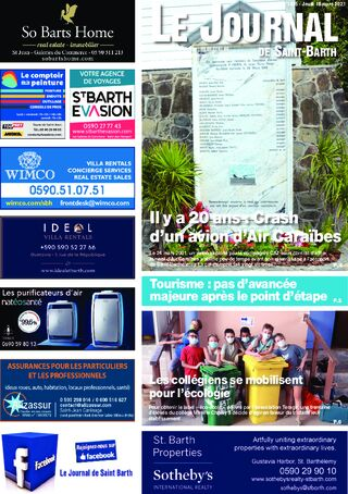 Journal de Saint-Barth N°1415 du 18/03/2021