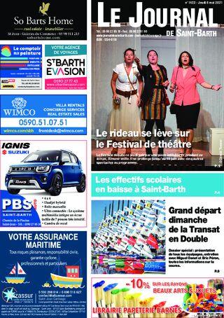 Journal de Saint-Barth N°1422 du 06/05/2021