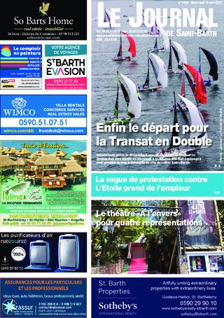 Journal de Saint-Barth N°1423 du 12/05/2021