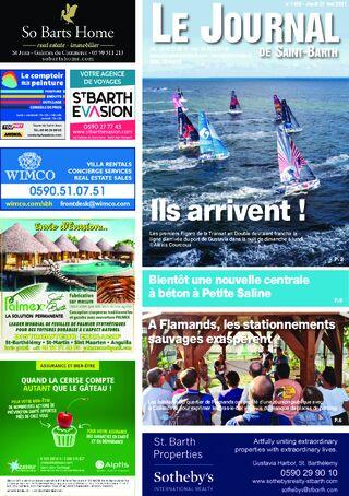 Journal de Saint-Barth N°1425 du 27/05/2021