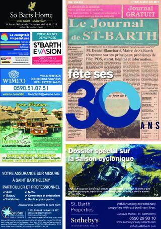 Journal de Saint-Barth N°1429 du 21/06/2021