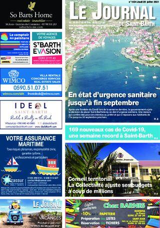 En état d'urgence sanitaire jusqu'à fin septembre / Covid : une semaine record / Conseil territorial - 1434 du 29/07/2021
