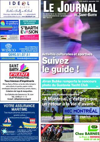 Journal de Saint-Barth N°1440 du 30/09/2021