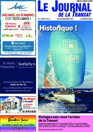 Journal de Saint-Barth N°2 du 11/05/2018