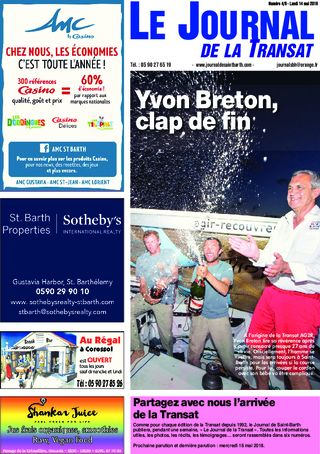 Journal de Saint-Barth N°5 du 15/05/2018
