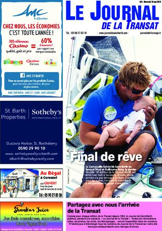 Journal de Saint-Barth N°6 du 16/05/2018